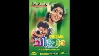 Chitram Evergreen Malayalam Movie Theme Music...