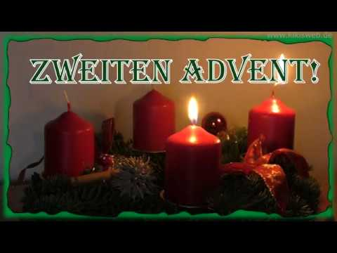 gr e zum zweiten advent youtube. Black Bedroom Furniture Sets. Home Design Ideas