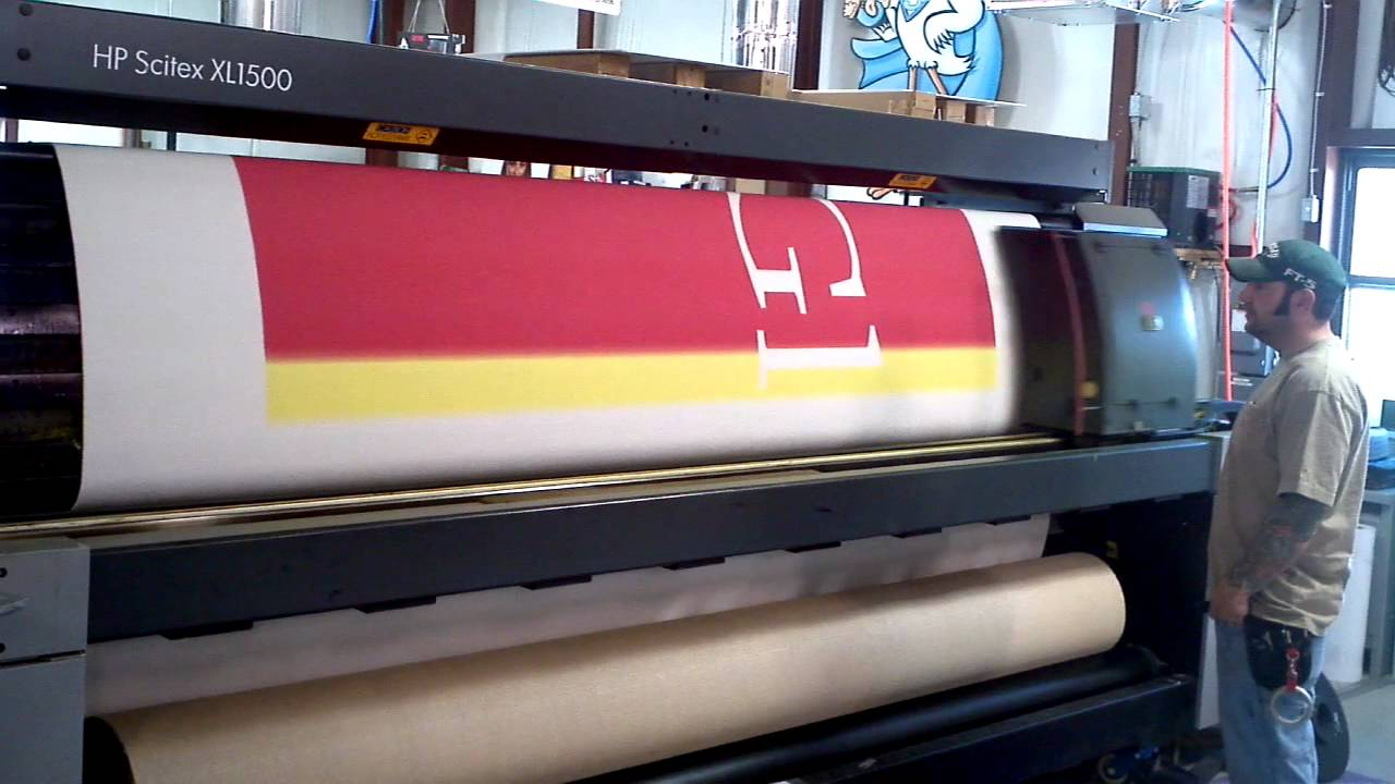 Printing carpet - YouTube