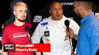 Fame MMA 7: Marcin Najman starł się z Don Kasjo podczas wywiadu