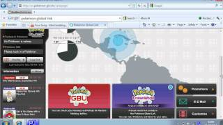 Pokemon Global Link Site Tour (C-Gear Codes in Desc)