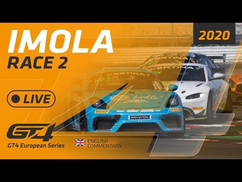 RACE 2 - IMOLA - GT4 EUROPE IMOLA 2020