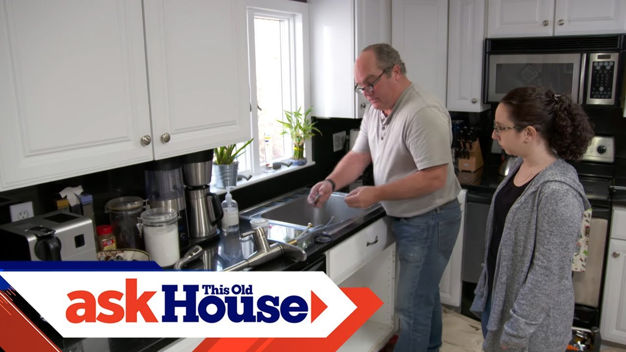 How To Install A New Kitchen Faucet Youtube