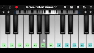 Khamoshiyan (Arijit Singh) Piano Tutorial - Mobile Perfect Piano Cover | Jarzee Entertainment