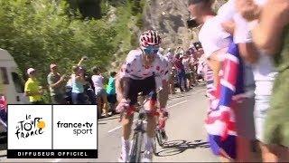 Tour de France 2018 : Alaphilippe en feu passe en tête de la Montée de Bisanne !
