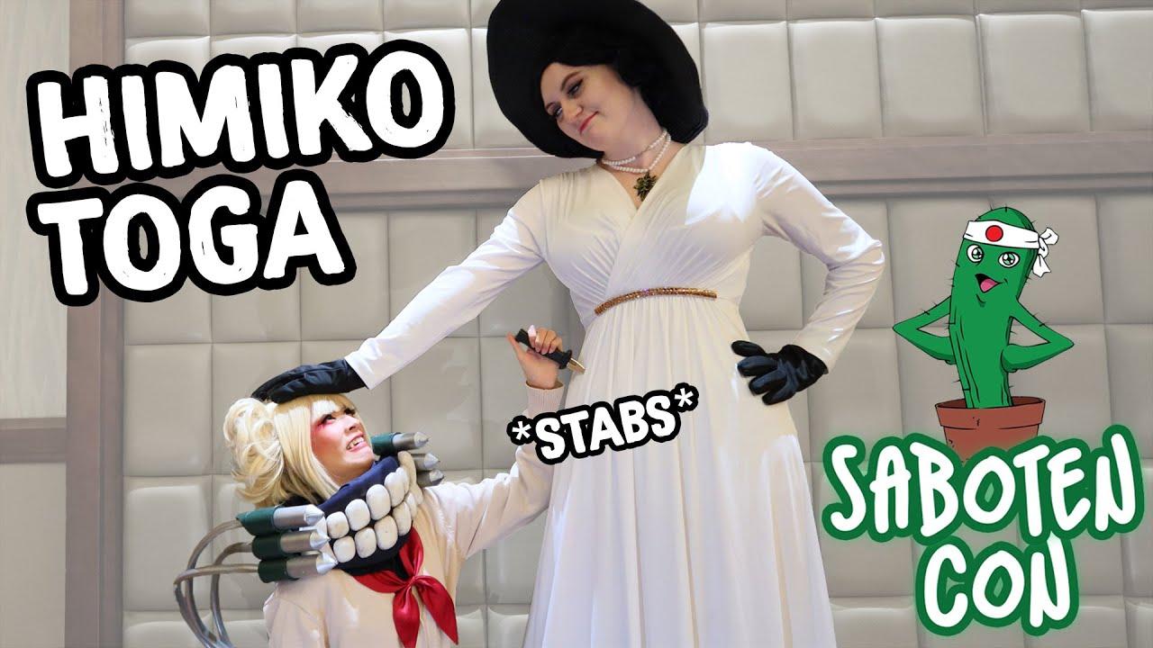 Himiko Toga Stabs Saboten Con 2021 - With Lucky Lai