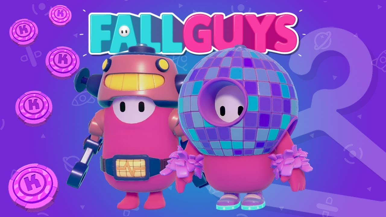 Fall Guys DAZZLING DANCE ORB & RUSTY are now in the Item Shop!