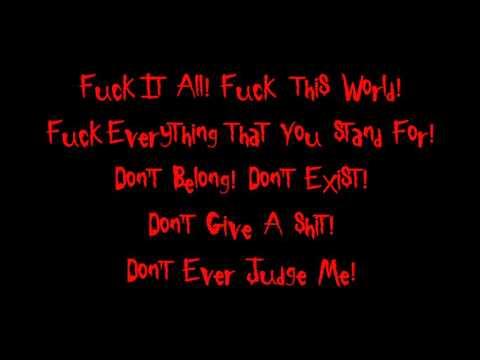 SlipKnot - Surfacing Lyric Video.