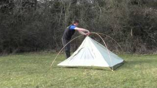 How to pitch The North Face Rock 3 tent