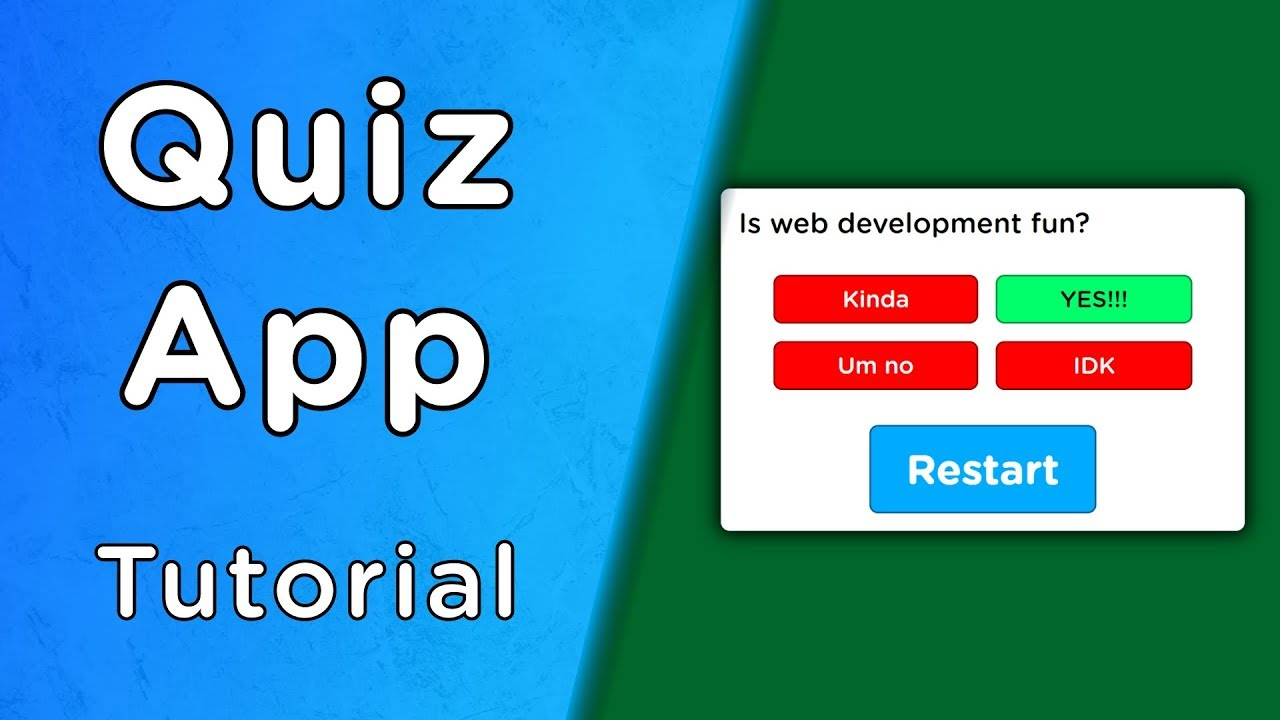 Build A Quiz App With JavaScript – App Builders Guide