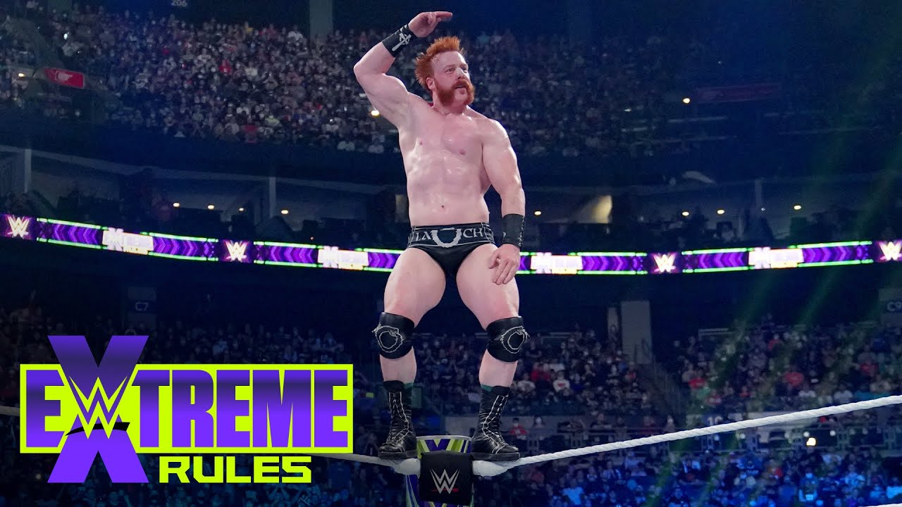 Download Sheamus mocks Jeff Hardy from top rope: WWE Extreme Rules 2021 (WWE Network Exclusive)