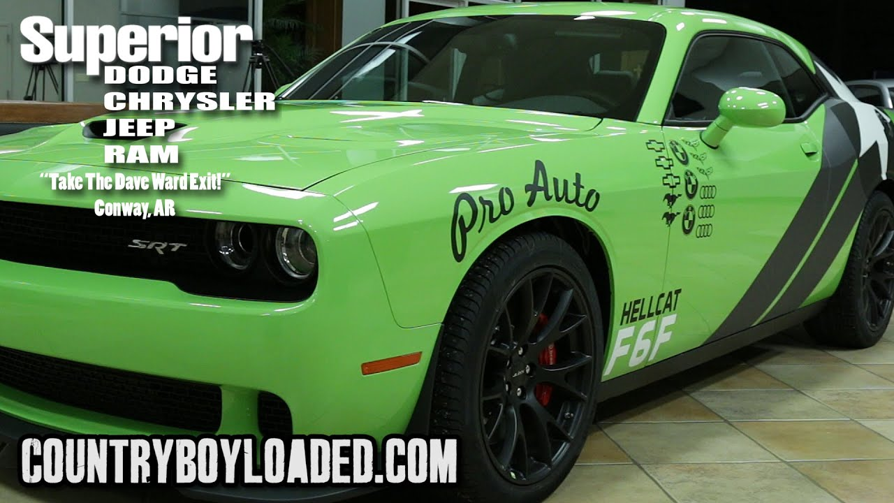 the dodge hellcat superior dodge in conway youtube. Cars Review. Best American Auto & Cars Review