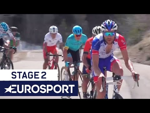 Tour of the Alps 2018 | Stage 2 Highlights | Cycling | Eurosport