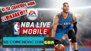 NBA LIVE MOBILE: Si eres fan de la NBA deberias tenerlo.