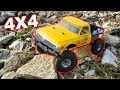 Rock Crawling RC Truck - VATERRA 1/10 1972 Chevrolet K10 Pickup Ascender - TheRcSaylors