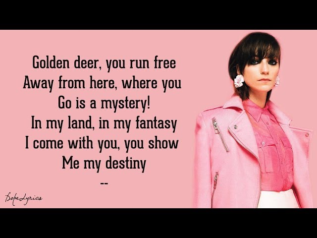 Sarah P. - Golden Deer (Lyrics) feat. Hiras