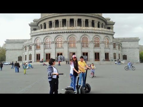 Freedom Square II Opera House II Armenia II Yerevan II Tumanyan St, Yerevan, Armenia