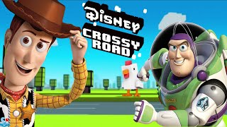 Disney Pixar Toy Story Buzz Lightyear and Woody Characters Unlocked - Disney Crossy Road