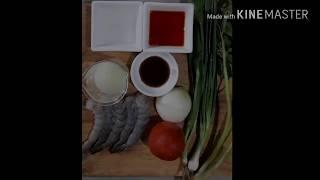 Тайская кухня. Тайский салат с морепродуктами. Ям Талей