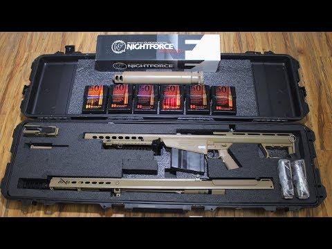 Barrett M107A1 (50 BMG) Unboxing + Starter Pack!