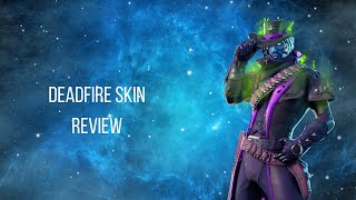 Deadfire Fortnite skin REVIEW