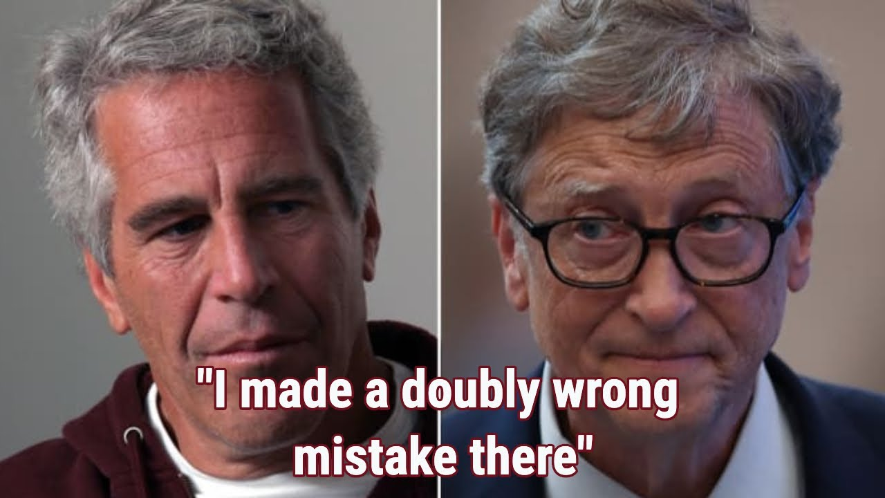 """BILL GATES SQUIRMS WHEN ASKED ABOUT EPSTEIN, """" I MADE A MISTAKE"""" LOL"""