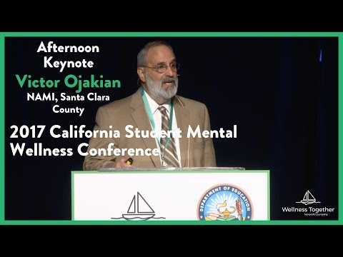 Victor Ojakian at the 2017 California Student Mental Wellnes