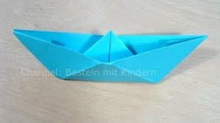 Baixar Papierschiff falten - Papier falten - Origami Boot - Einfaches Schiff basteln mit Papier