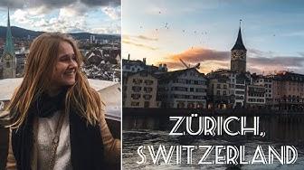 One Day In Zurich On A Budget | Top Switzerland Travel Vlog 2020