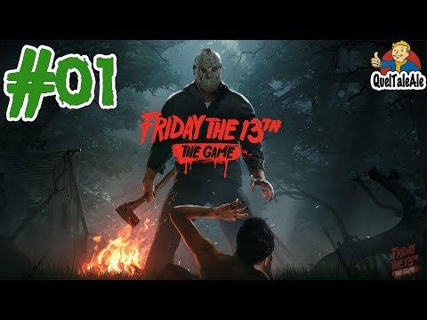 Friday the 13th - Gameplay ITA - #01 - Proviamo a sopravvivere