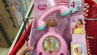 """DISNEY PRINCESS """"Magic Glow Fortune Phone"""" Interactive Telephone Toy / Toy Review"""