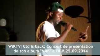 CTD is back : Concert de présentation de son album