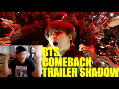 BTS MAP OF THE SOUL : 7 'Interlude : Shadow' Comeback Trailer Reaction