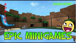 TIME FOR SOME MINIGAMES - Roblox - SOZ MIC BROKE FOR SPIDERSUITGUY!!!!!