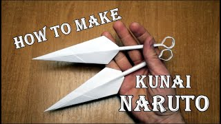 How to make kunai. Ninja Weapon. DIY