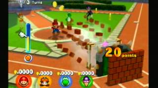 Mario Superstar Baseball - 2005 - Minigames: Wall Ball