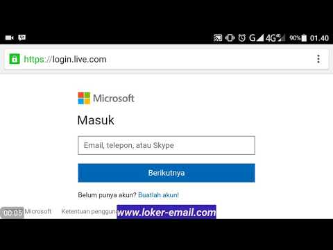 Cara Membuat Email Outlook (create outlook email account)