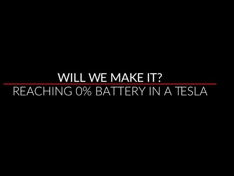 Will We Make It? Hitting 0 Rated Range in a Tesla