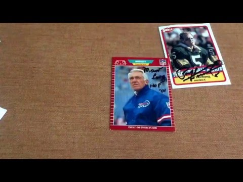 Paul Hornung and Marv Levy TTM success