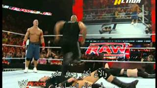 Rock Bottom+Attitude Adjustment+People's Elbow+Spinebuster-5-Knuckle-Shuffle!!!-must watch!-HD