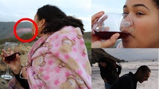 MUIR BEACH -kiara trying WINE for the very FIRST TIME!!! - VLOG