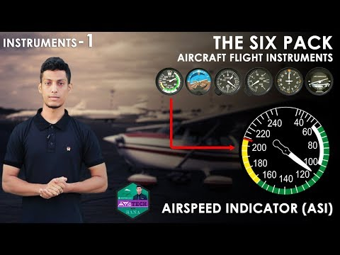 Airspeed Indicator (ASI) Explained by- AVioTECH with RANA - HANDYFILM