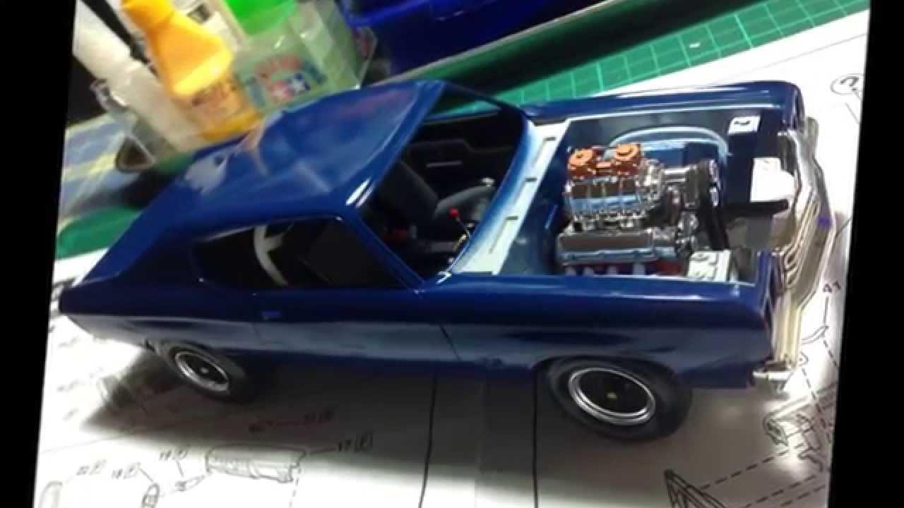 1970 Chevelle 1 24 Scale Model Kit Youtube