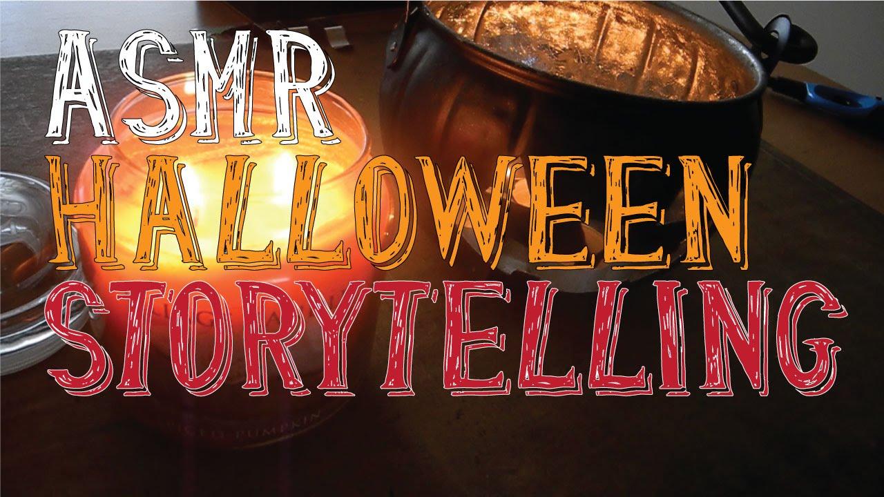 Asmr Halloween Storytelling  Whispering  Little Watermelon  Youtube