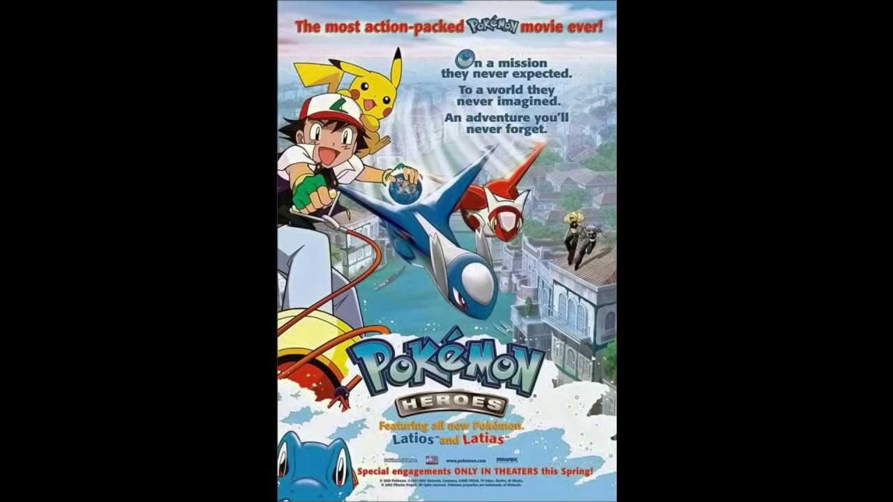 Pokemon Movie 5 Heroes Latios And Latias Youtube