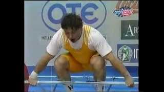 1999 World Weightlifting 85 kg Highlights