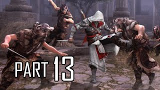 Assassin's Creed Brotherhood Walkthrough Part 13 - Lair of Romulus 3 (ACB Let's Play Commentary)