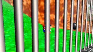 Super Mario 64 - Multiplayer - Super Mario 64 - Multiplayer trying to do this singleplayer (N64) - User video