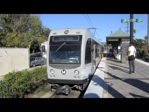 Los Angeles Metro Rail Expo, Blue, Red & Gold Line