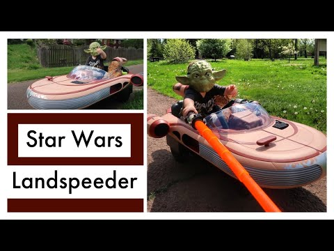 Star Wars Landspeeder From Toys R Us!!!! Video Update